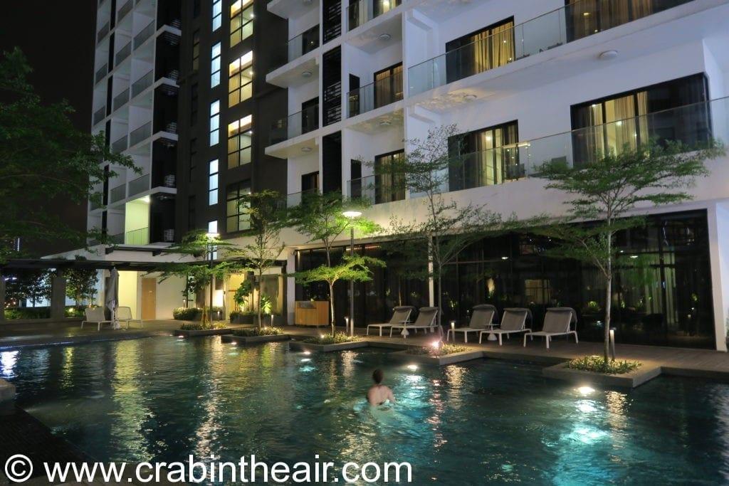 fraser residence swimming pool