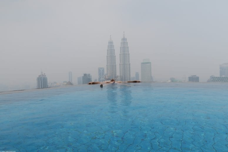the face suites swimming pool