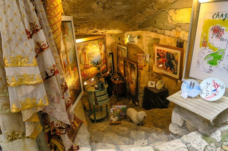 art gallery saint paul de vence france