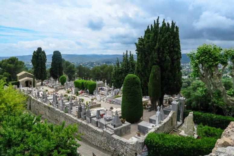 marc chagall grave saint paul de vence