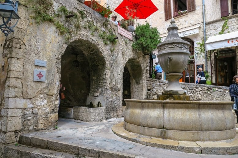 the place de la grande fontaine saint paul de vence