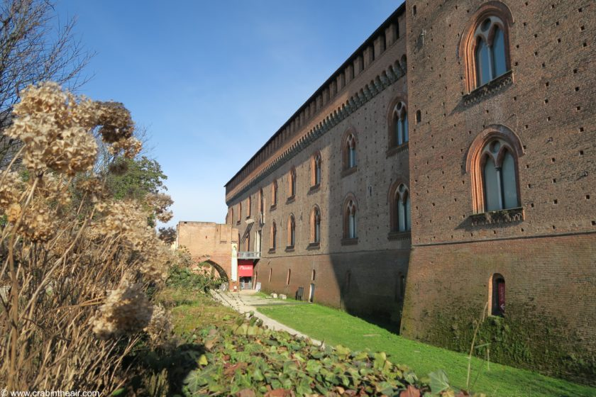 visconteo castle pavia