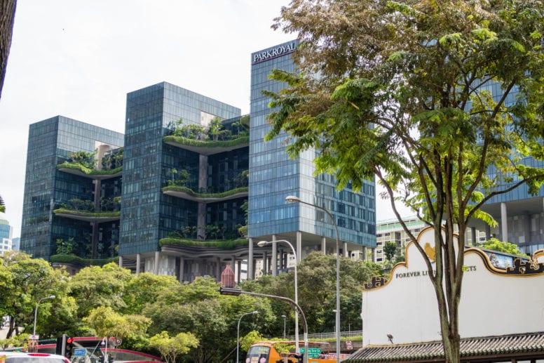 parkroyal on pickering hotel singapore