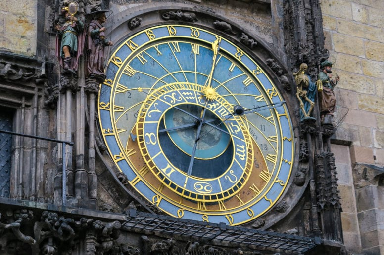 prague attractions astronomical clock