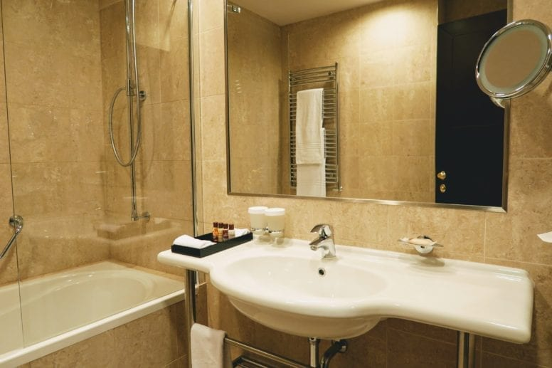 sheraton bathroom review