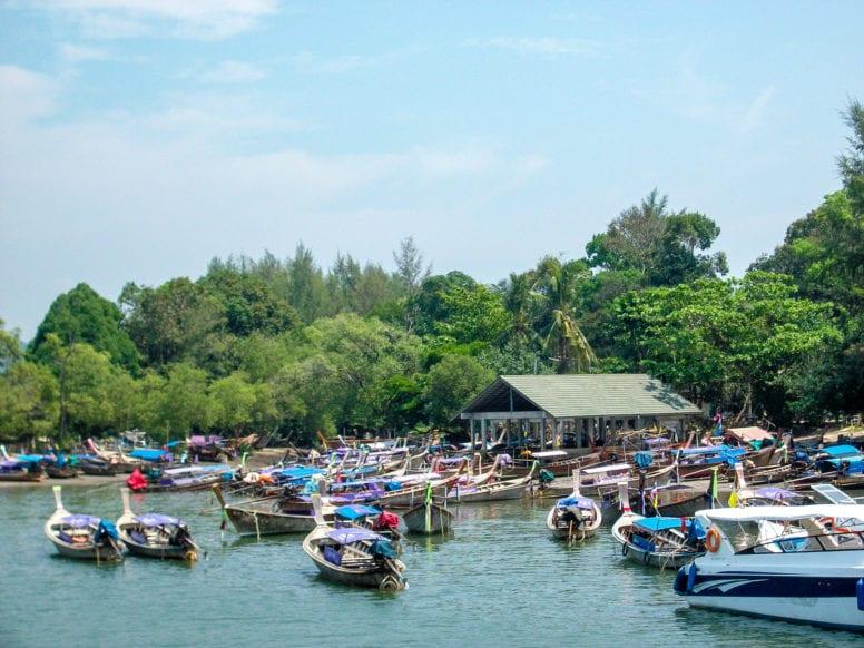 getting to ao nang thailand