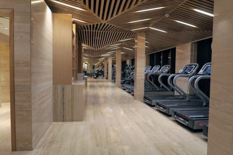 jw marriott mumbai gym