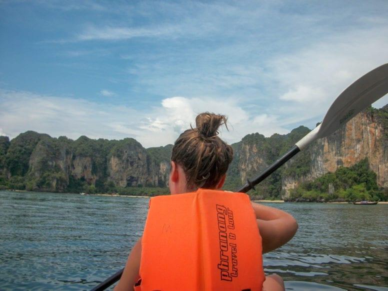 kayaking in ao nang thailand