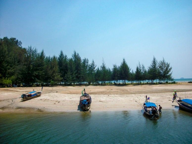 phra nang cave beach in ao nang