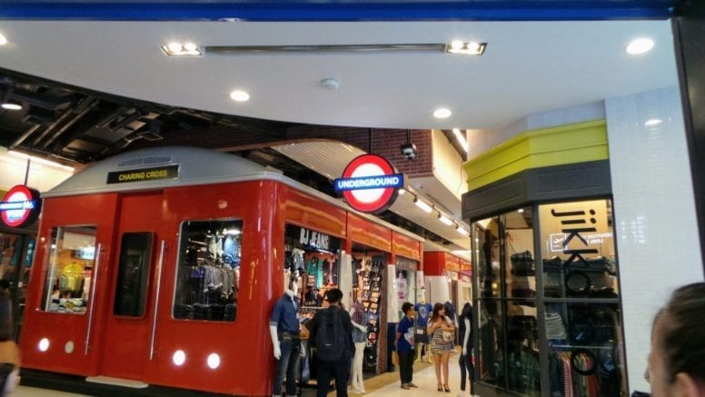 shopping malls bangkok