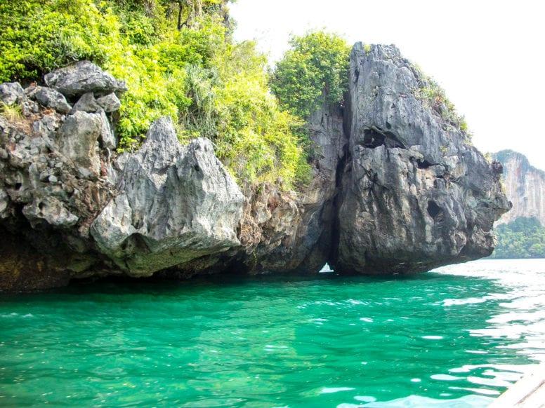 snorkeling ao nang thailand