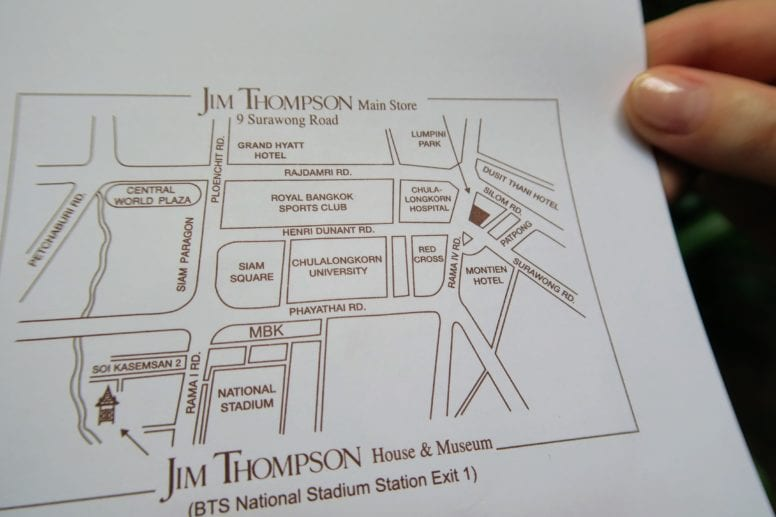 jim thompson house location