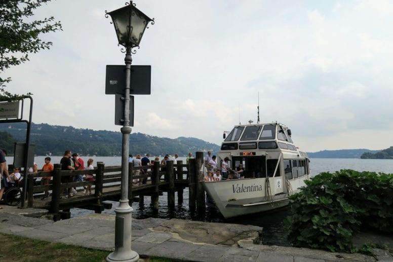 san giulio italy ferry