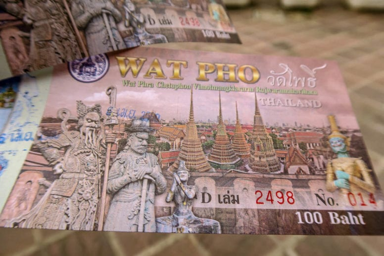 wat pho ticket