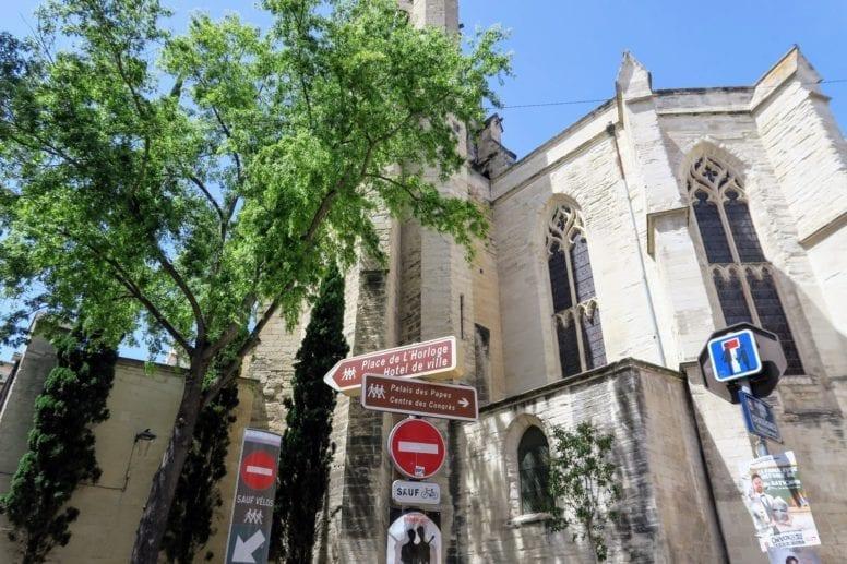 avignon historic centre
