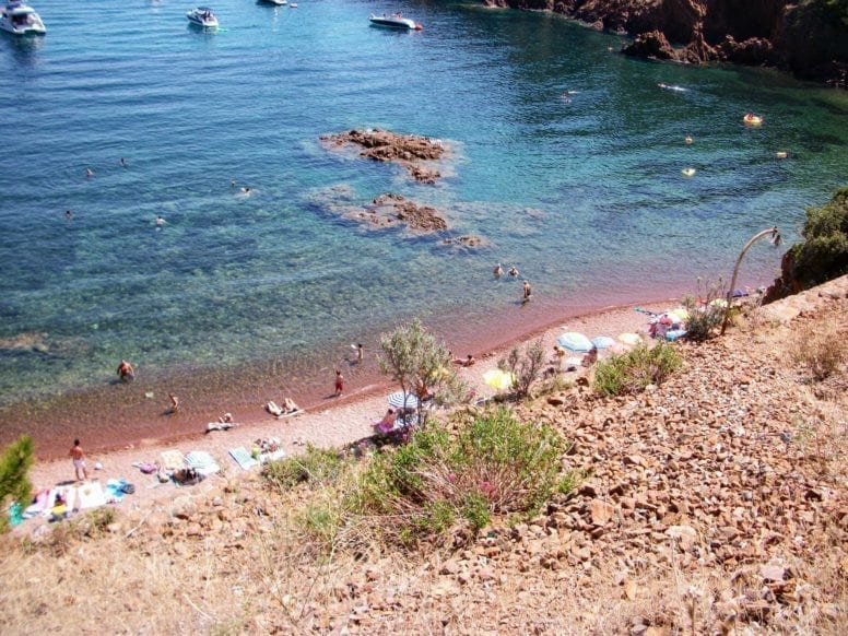 Esterel Beach French Riviera