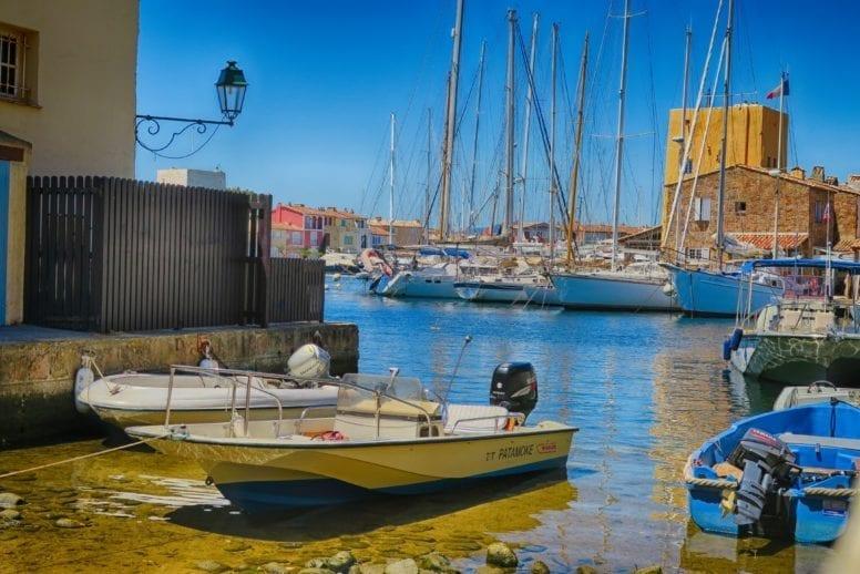 french riviera port grimaud