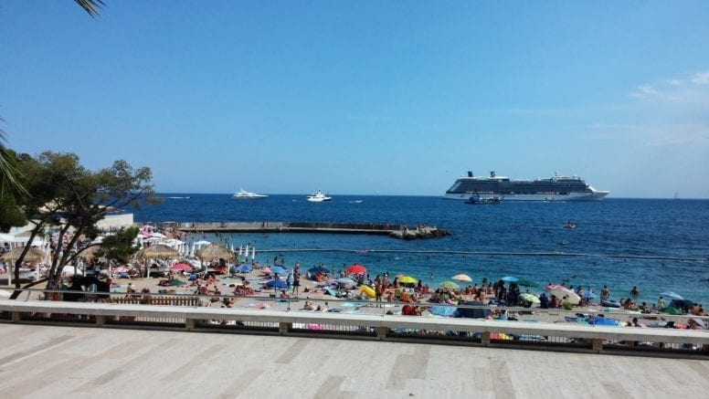 larvotto beach french riviera