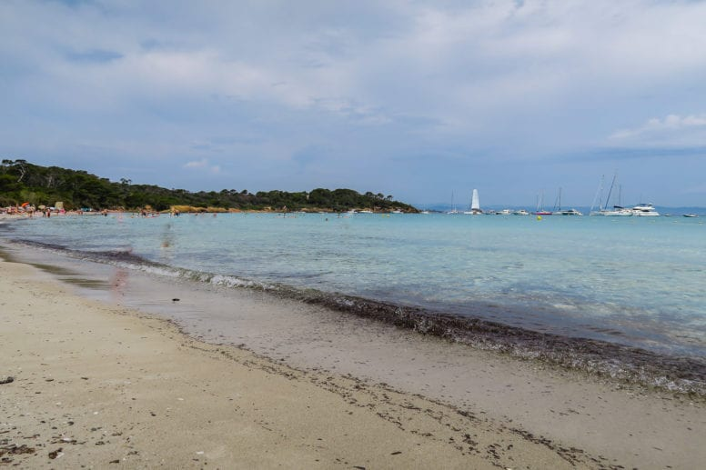 plage de la courtade porquerolles island
