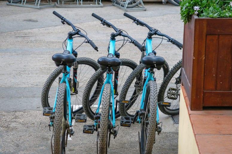 porquerolles island bikes