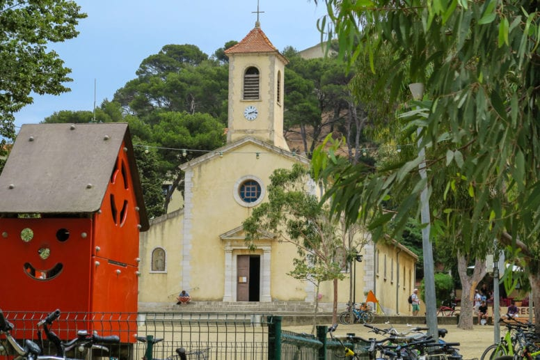 sainte anne church porquerolles island