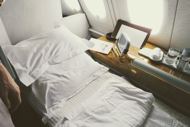 emirates first class suite sleep mattress