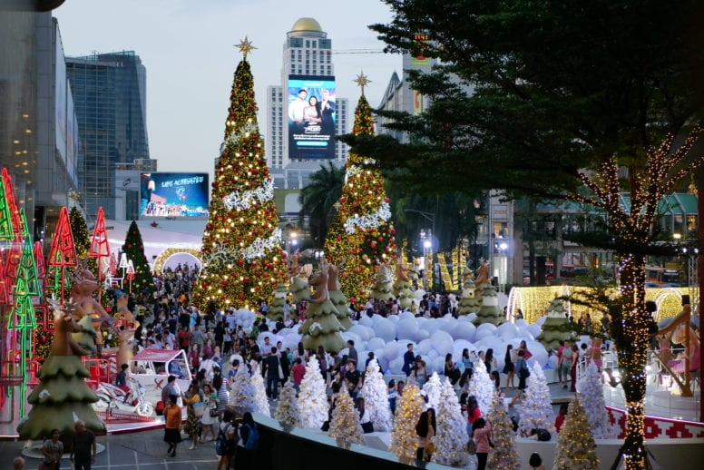 central world bangkok christmas