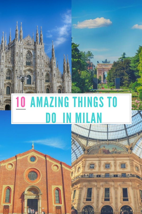 10 amazing things to do in Milan