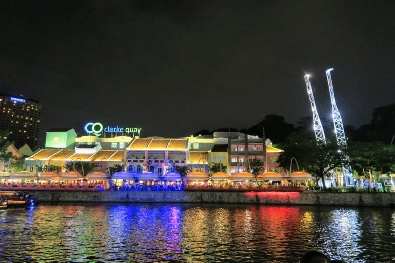 Where To Stay in Singapore: Clarke Quay