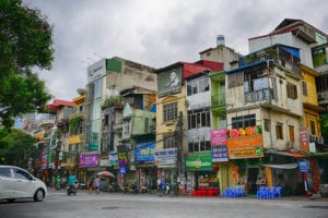 Hanoi Itinerary - Houses and Street View