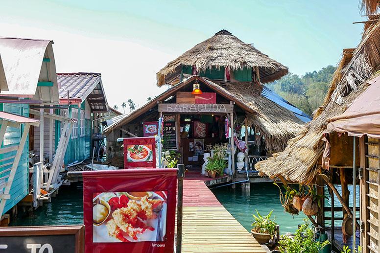 Koh Chang Fishing Village - Bangbao Pier