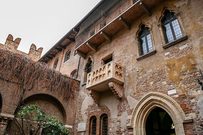 Verona Juliet Balcony House