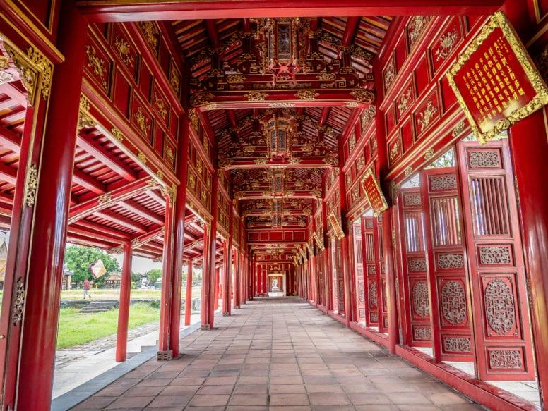 Halls of the Mandarins - Hue