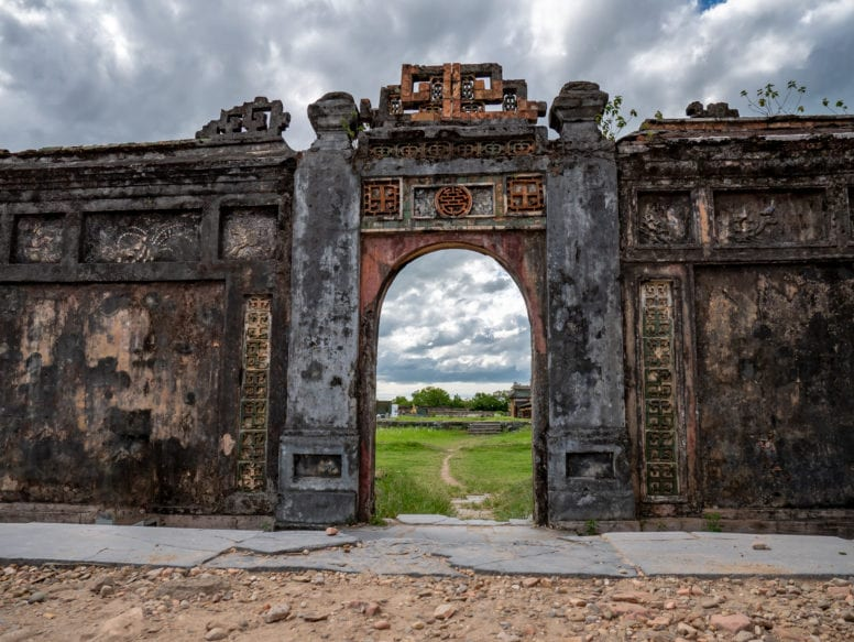 Hue Forbidden Purple City Gate