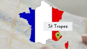 st tropez map