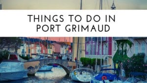 Things to do in Port Grimaud
