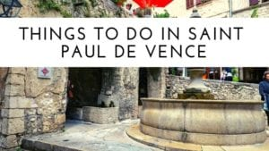 Things to do in Saint Paul de Vence