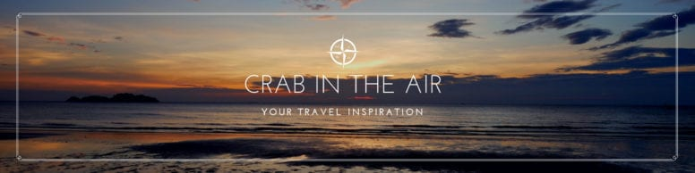 Crab in the Air - Travel Inspiration