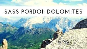 Sass Pordoi - Dolomites