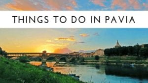 things to do in pavia