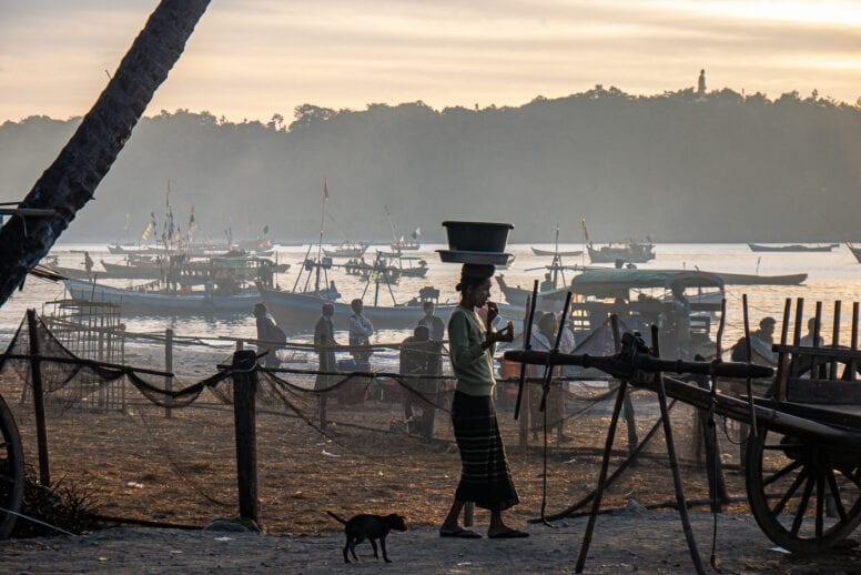 fisherman village ngapali beach