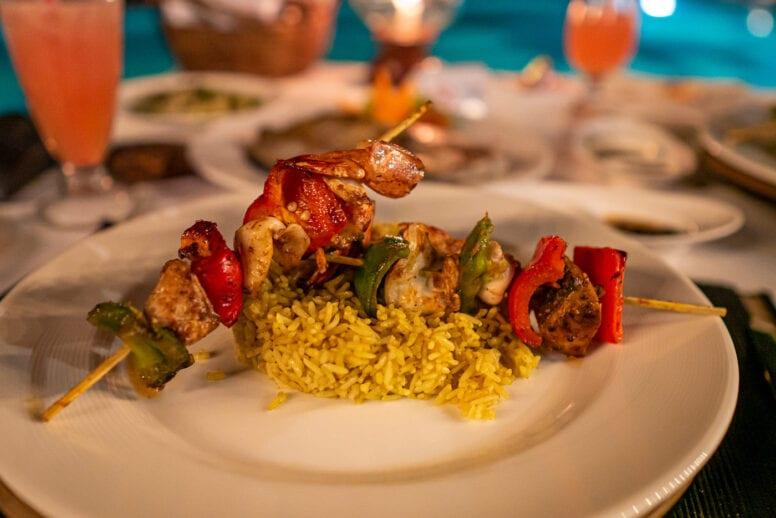 ngapali beach cuisine