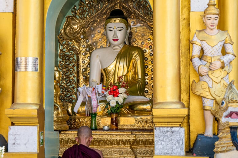 things to do yangon shwedagon pagoda
