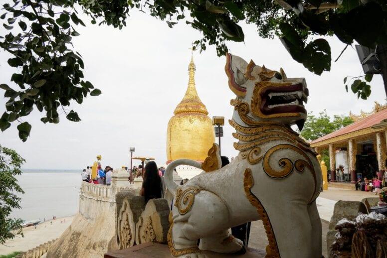 bupaya pagoda bagan