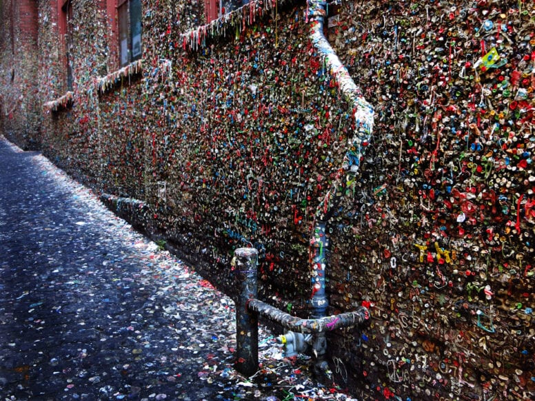 the gum wall seattle
